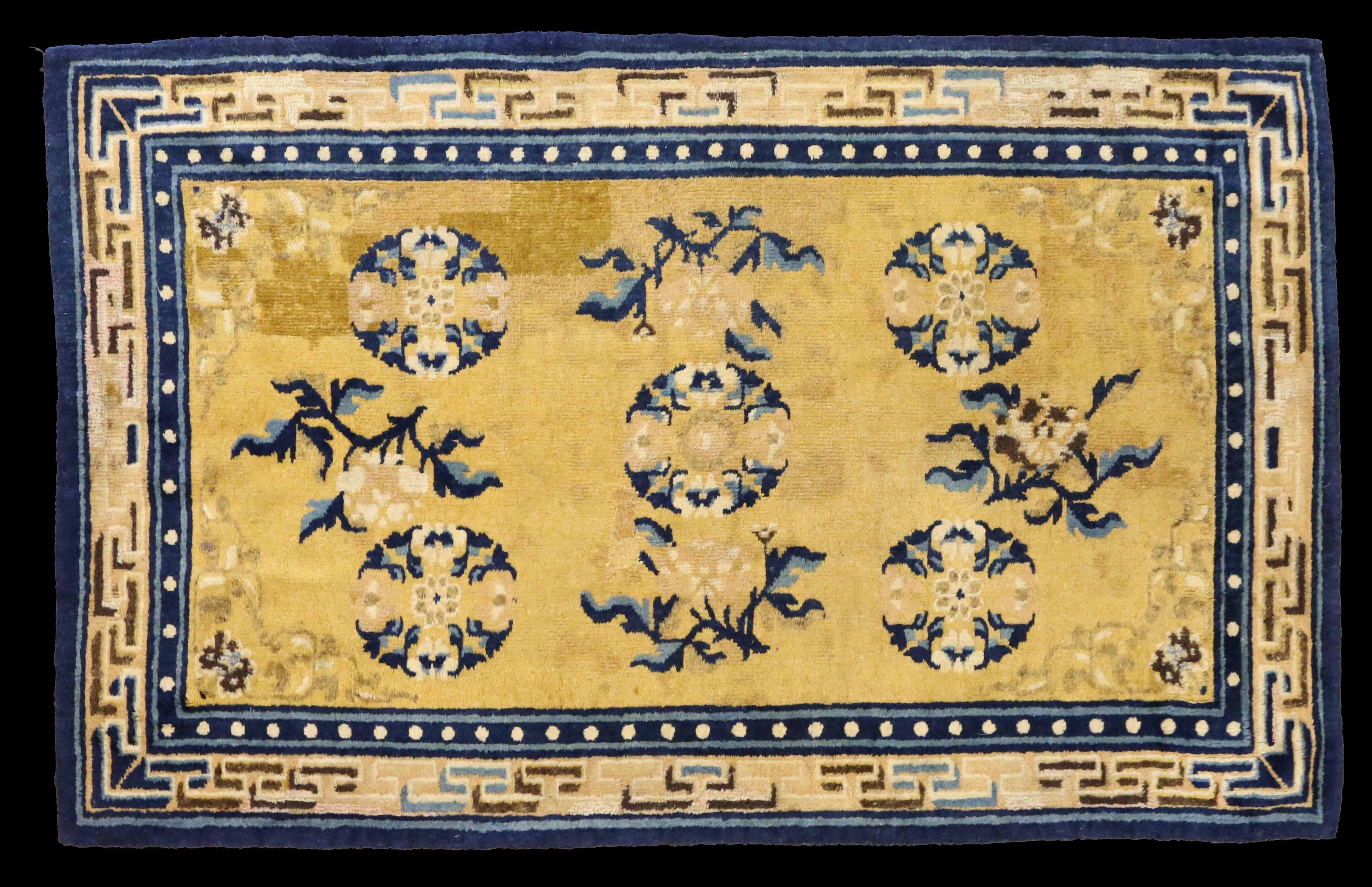 14302 Chinese Ningxia Rug 188cm x 122cm
