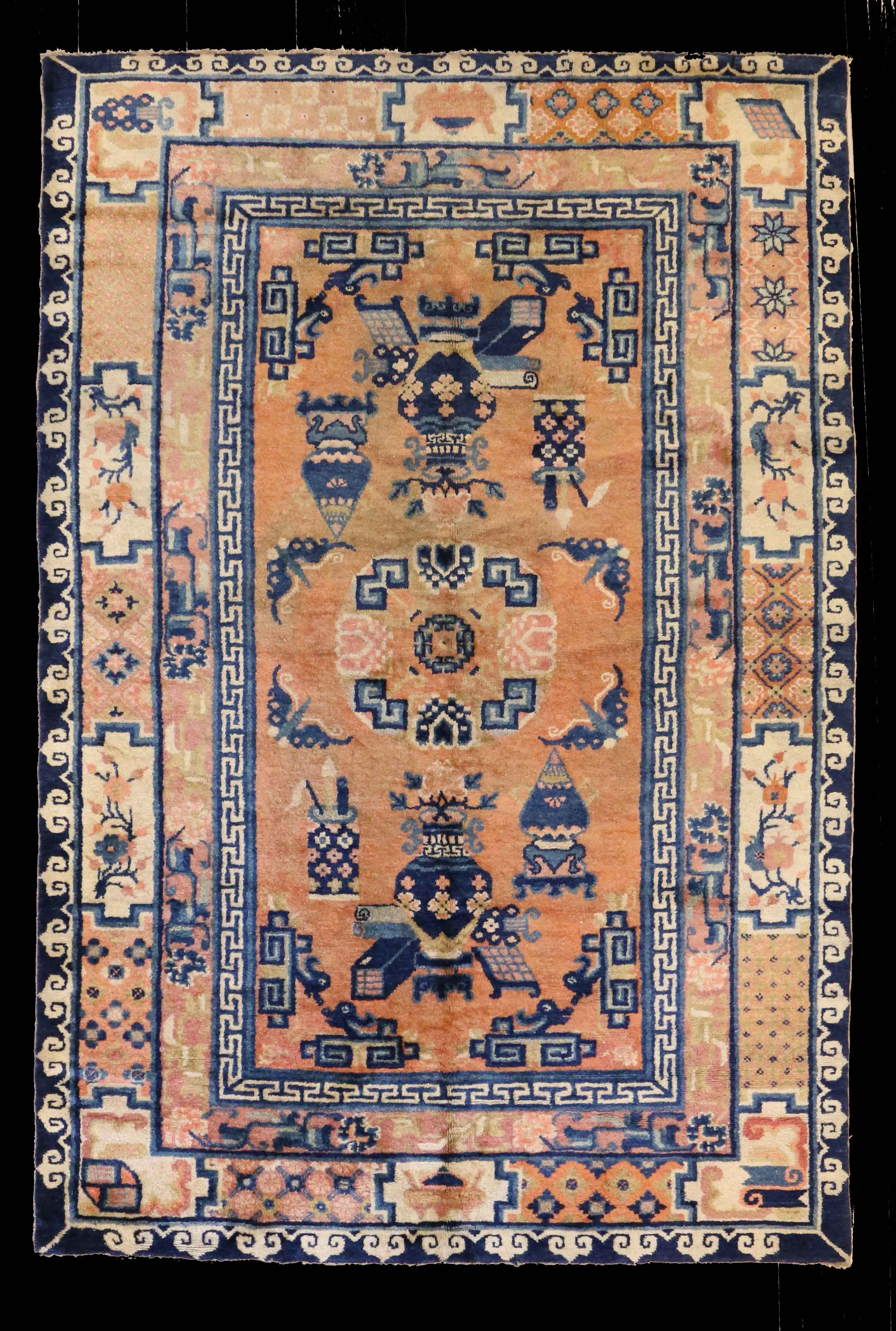 15615 Chinese Ningxia Rug 206cm x 140cm