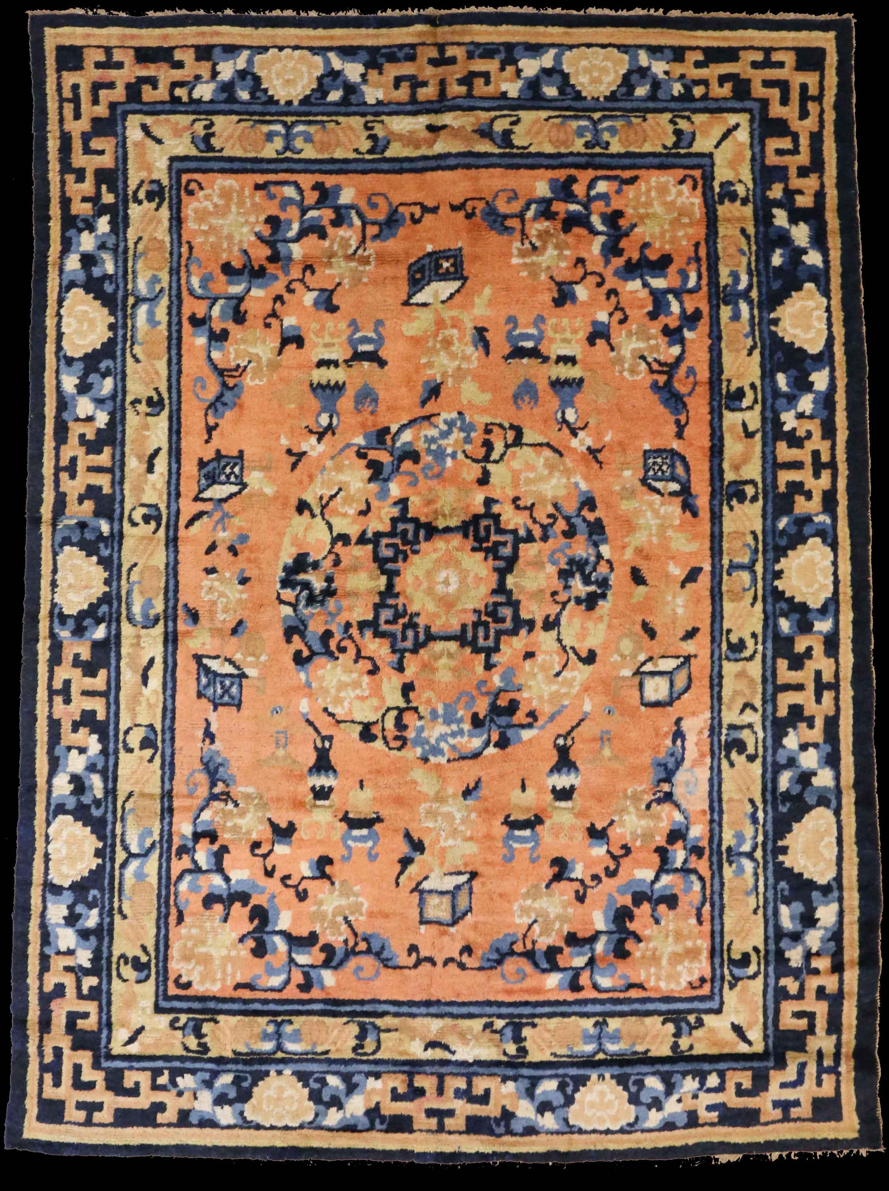 16131 Chinese Ningxia Rug 239cm x 175cm