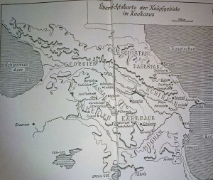 Map for Caucasian Blog